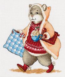 Borduurpakket Hamster and Cocoa - PANNA