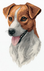 Borduurpakket Jack Russell Terrier - PANNA