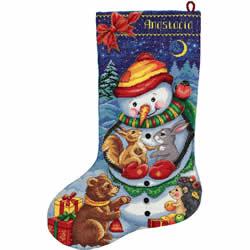 Borduurpakket SnowmanStocking - PANNA