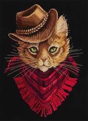 Borduurpakket Tom - Outlaw - PANNA