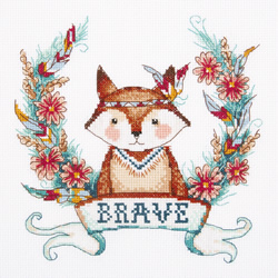 Borduurpakket Brave Fox - PANNA