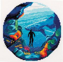Borduurpakket Diving - PANNA