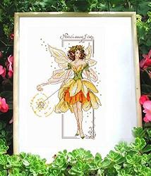 Borduurpatroon Narcissus Fae - Passione Ricamo