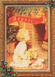 Borduurpatroon Waiting for Christmas - Passione Ricamo