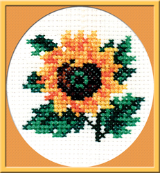 Voorbedrukt borduurpakket Sunflower - PC-Studia
