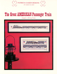 Borduurpatroon Great American Passenger Train - Patricia Gaskin
