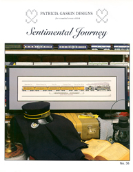 Borduurpatroon Sentimental Journey - Patricia Gaskin