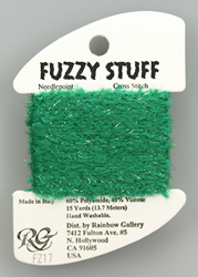 Fuzzy Stuff Christmas Green - Rainbow Gallery
