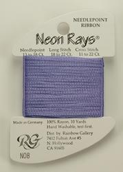 Neon Rays Amethyst - Rainbow Gallery