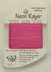 Neon Rays Rose Pink - Rainbow Gallery