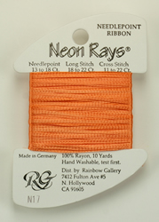 Neon Rays Peach - Rainbow Gallery