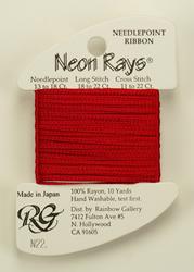 Neon Rays Crimson - Rainbow Gallery