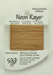 Neon Rays Beige - Rainbow Gallery