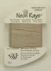 Neon Rays Champagne - Rainbow Gallery