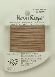 Neon Rays Taupe - Rainbow Gallery