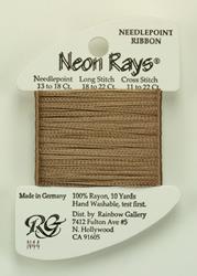 Neon Rays Lite Smoke Brown - Rainbow Gallery