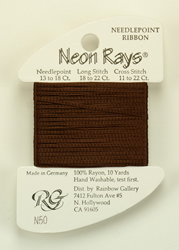 Neon Rays Chocolate - Rainbow Gallery