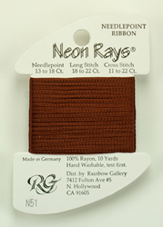 Neon Rays Brown - Rainbow Gallery