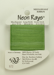Neon Rays Spring Green - Rainbow Gallery