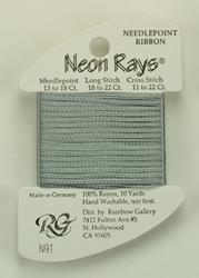 Neon Rays Silver - Rainbow Gallery