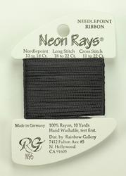 Neon Rays Dark Gray - Rainbow Gallery