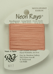 Neon Rays Medium Peach - Rainbow Gallery
