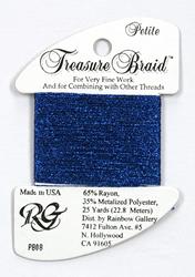 Petite Treasure Braid Sapphire - Rainbow Gallery