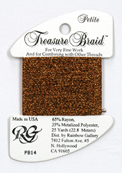 Petite Treasure Braid Bronze - Rainbow Gallery