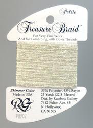 Petite Treasure Braid Ecru - Rainbow Gallery