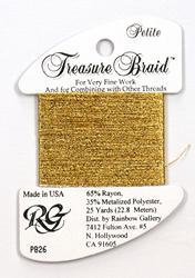 Petite Treasure Braid Yellow Gold - Rainbow Gallery