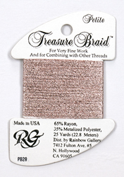Petite Treasure Braid Powder Pink - Rainbow Gallery