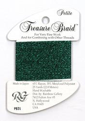 Petite Treasure Braid Emerald - Rainbow Gallery