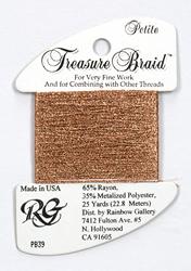 Petite Treasure Braid New Copper - Rainbow Gallery