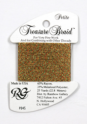 Petite Treasure Braid Christmas - Rainbow Gallery