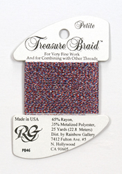 Petite Treasure Braid 4th of July - Rainbow Gallery
