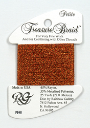 Petite Treasure Braid Autumn Leaves - Rainbow Gallery