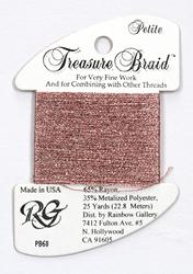 Petite Treasure Braid Dark Power Pink - Rainbow Gallery