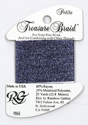 Petite Treasure Braid Amethyst - Rainbow Gallery