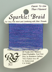 Sparkle Braid Iris - Rainbow Gallery