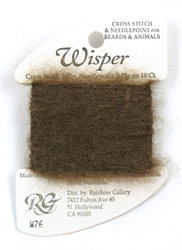 Wisper Dark Brown - Rainbow Gallery