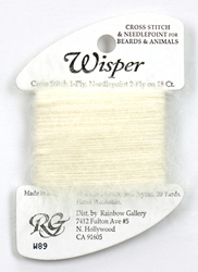 Wisper Ecru - Rainbow Gallery