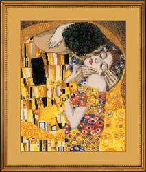 Borduurpakket The Kiss, Klimt - RIOLIS
