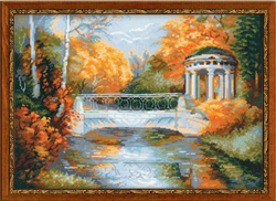 Cross Stitch Kit Autumn Park - RIOLIS