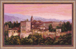 Cross Stitch Kit Alhambra - RIOLIS