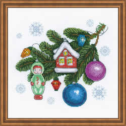 Cross stitch kit Beloved Decorations - RIOLIS