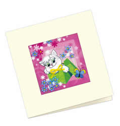 Cross stitch kit Card Gift - RIOLIS