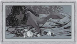 Cross stitch kit Silver Dream - RIOLIS