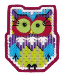Cross stitch kit Magnet Owl - RIOLIS