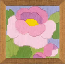 Cross stitch kit Peony - RIOLIS