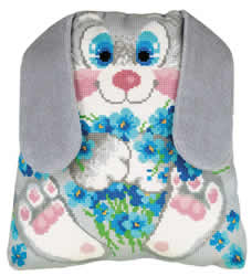 Borduurpakket Bunny Cushion - RIOLIS